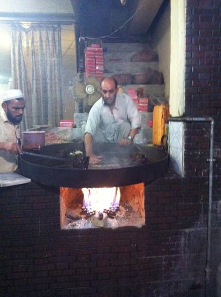 Chappli kebab in Peshawar
